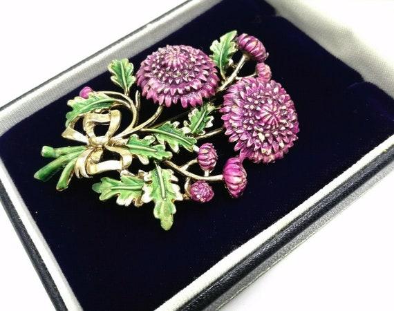 Purple Chrysanthemum Exquisite Birthday Month Flow