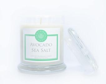 Avocado + Sea Salt 12oz Soy Candle
