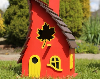 Birdhouse Outdoor birdhouse Bird houses handmade Large birdhouse Wood birdhouse Birdhouse decor Bird houses for sale Whimsical birdhouses