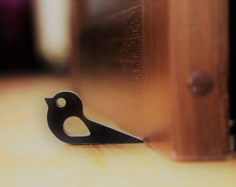 Door stop Door stopper Door wedge Bird doorstop Door holder Doorstop Hold the door Hodor Wood door stop Bird door Door decor Door hold Floor