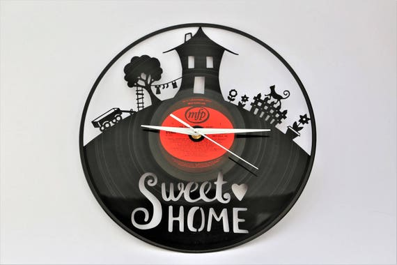 Wanduhr moderne Wanduhr Uhr Vinyl Uhr Wanduhr Vinyl Vinyl | Etsy