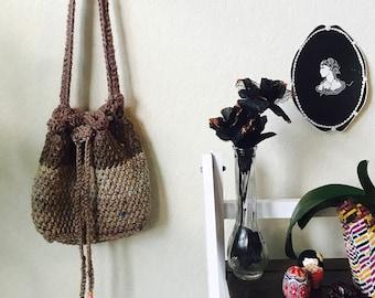 Multicolored Crochet Bag
