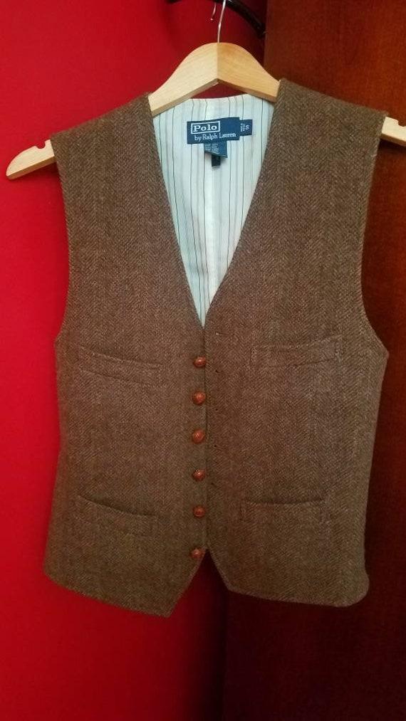 Polo Ralph Lauren Vintage Style 20s/30s Herringbon