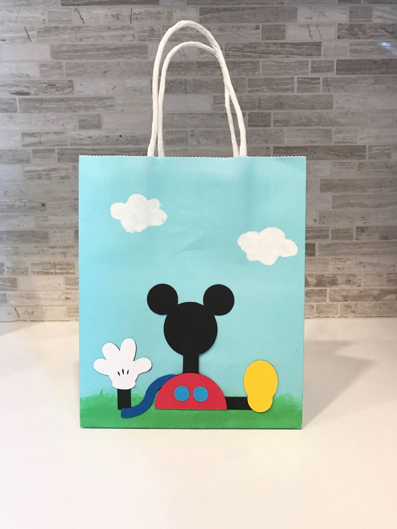 Mickey MouseMinnie Mouse Clubhouse inspired party favor bags
