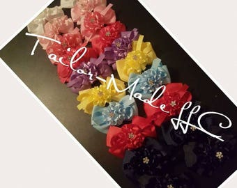 Assorted Carnation Bows