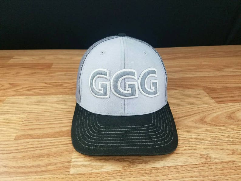 GGG, ggg hat, ggg cap, ggg trucker hat, Snapback, richardson, boxing fans,  boxeo, boxing, richardson hat, Richardson cap, gift ideas,