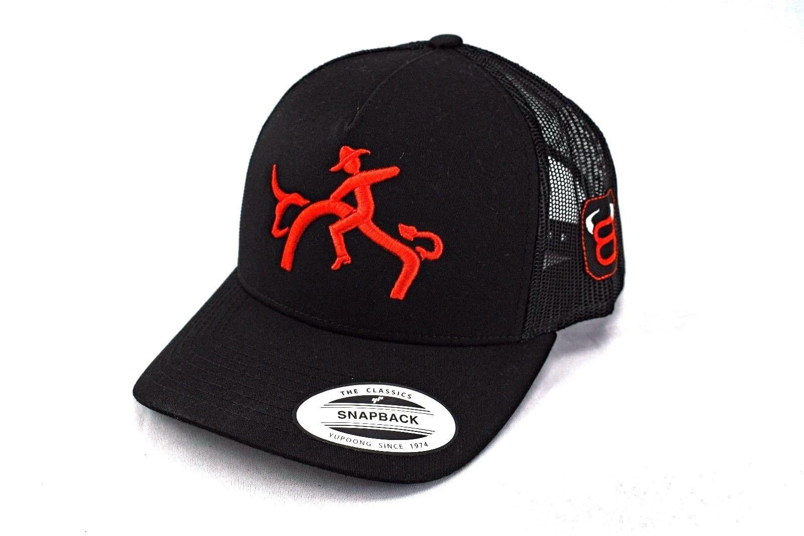f8a82e1b4c727 Bull rider cowboy hat western cap rodeo trucker hat 8