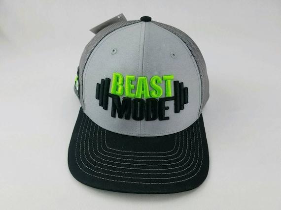 Beast mode gym hat fitness hat gym hat trucker hat beast  2d1c5a10f00d