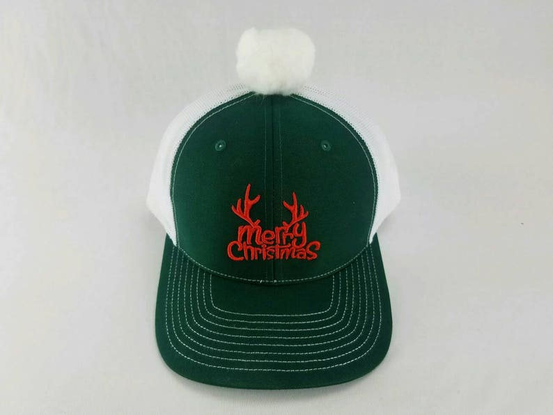 f4b44a8875d Holiday trucker hat Christmas hat Christmas Christmas