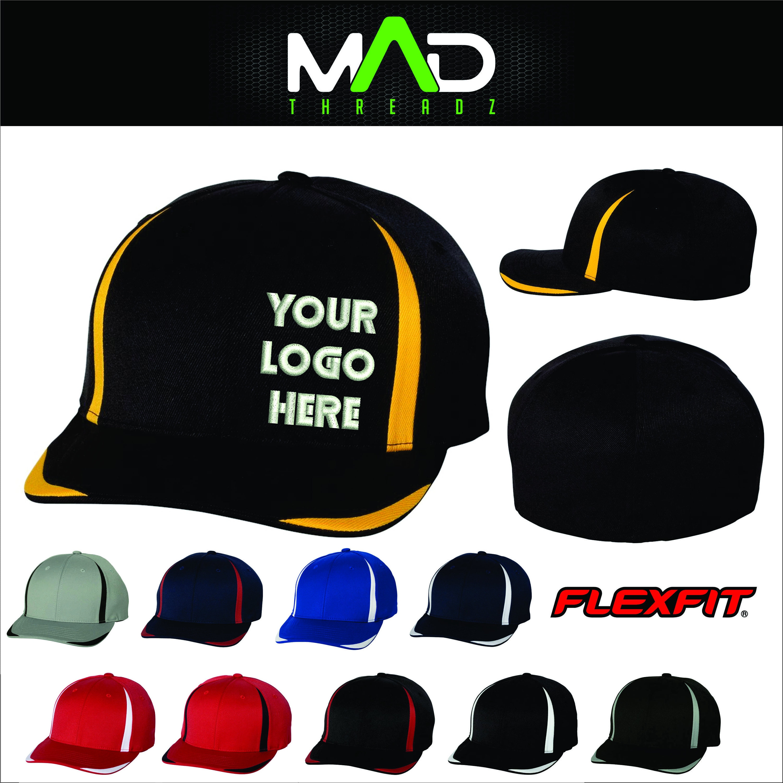 FlexFit hat Customized hats personalized hat cap your text  596049951f7