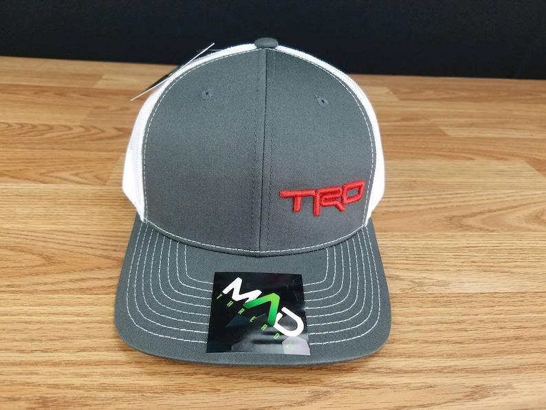 TRD Toyota Cap Custom Made Hat trd hat toyota trd toyota  e47513f9f58