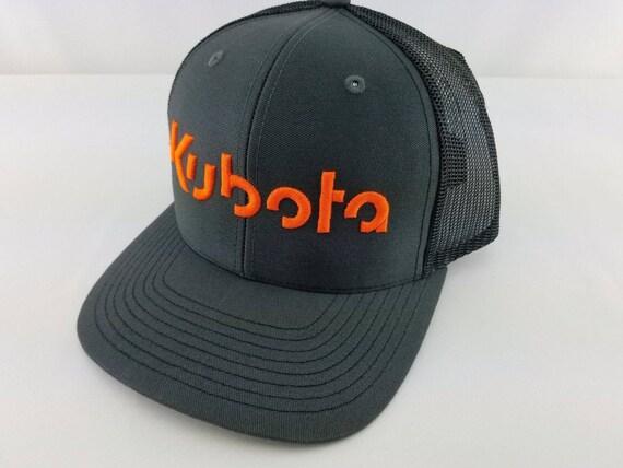 Kubota hat Kubota Kubota trucker hat Kubota tractor  4a7861b164c