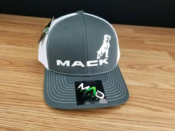 6ec9966a Mack hat embroidered hat Mack Trucker hat semi truck driver   Etsy