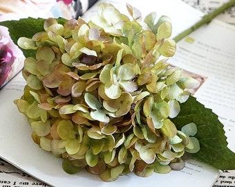 Silk Hydrangea Etsy