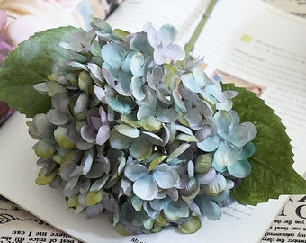 Silk hydrangea etsy artificial hydrangea artificial flowers silk hydrangea floral supplies faux flowers dr341 mightylinksfo