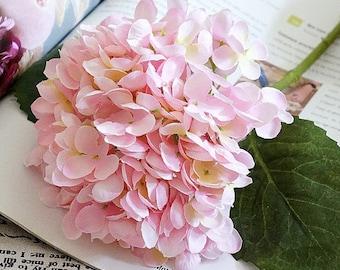 Silk hydrangea etsy artificial hydrangea artificial flowers silk hydrangea floral supplies faux flowers dr343 mightylinksfo