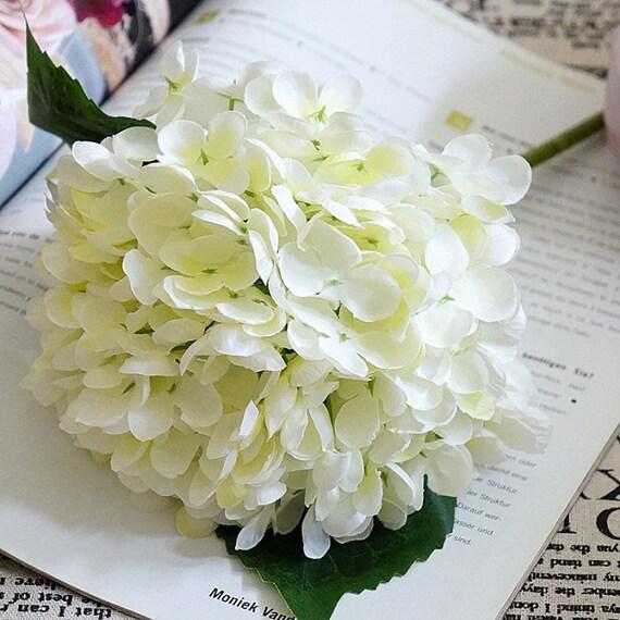 Artificial Hydrangea Artificial Flowers Silk Hydrangea Floral Etsy