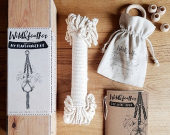 The WildAndFeather DIY planthanger kit - English