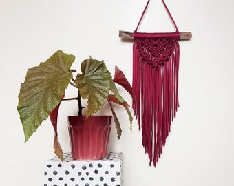 Mini wallhanging - red wine