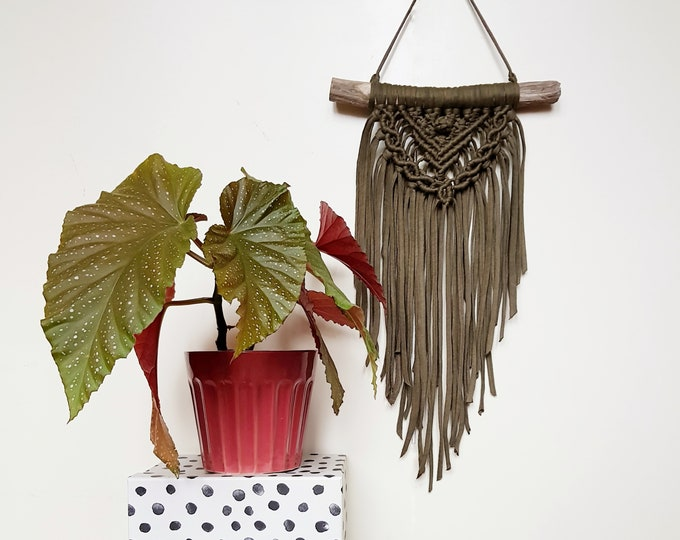 Mini wallhanging - army green