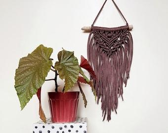 Mini wallhanging - chocolate