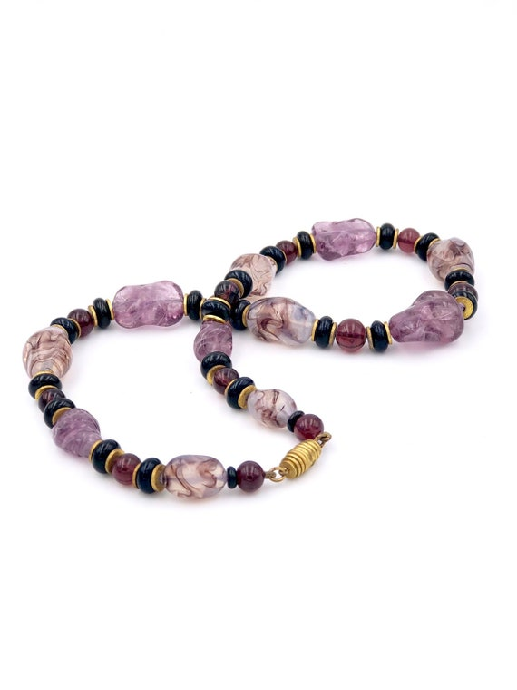 Simply beautiful colors of this Rousselet choker … - image 4