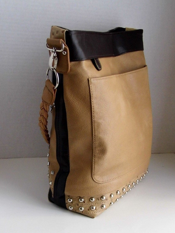 920e4609fc03 Brown Vegan Leather Hobo Bag Makes A Perfect Gift For Women