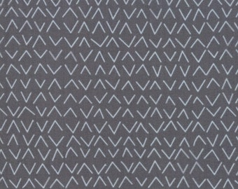 Sold by the Half Yard Day In Paris from Moda Modern Arrows Light Charcoal Fabric