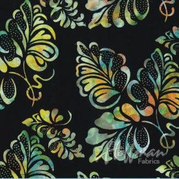 low priced 51ebf ba4a7 Hoffman Batik Bali Groovy Fabric 1/2+ yard
