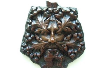 Green Man Wall Plaque From Worcester Cathedral Version 2