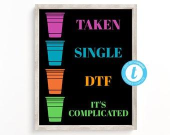 Single taken cups