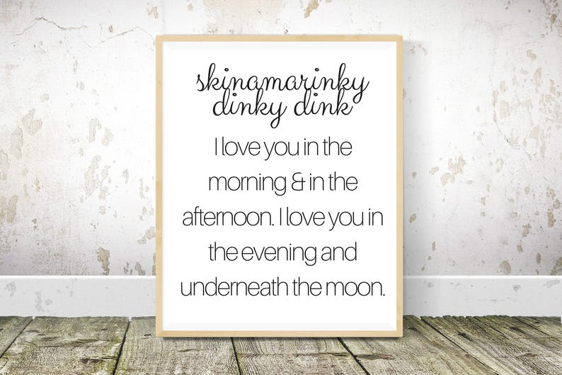 image regarding Printable Farmhouse Signs called Skinamarinky dinky dink Printable Farmhouse Signs and symptoms Electronic Obtain  Farmhouse Wall decor 11x14 and 16x20 Farmhouse Printable
