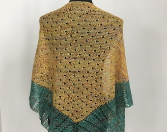 Wool Shawl Wrap Scarf, Summer Shawl Scarf Wrap, Lightweight Shawl Scarf Wrap, Dewdrops Shawl Scarf Wrap