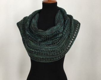 CLEARANCE PRICE - Interlude Green Shawl / Wrap / Scarf