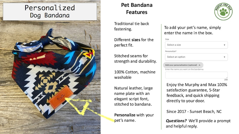 Traditional Tie Pet Accessories Chocolate Plaid Stripe Dog Bandana Dog Bandana Personalized Leather Name Tag Bandanna Dog Bandana