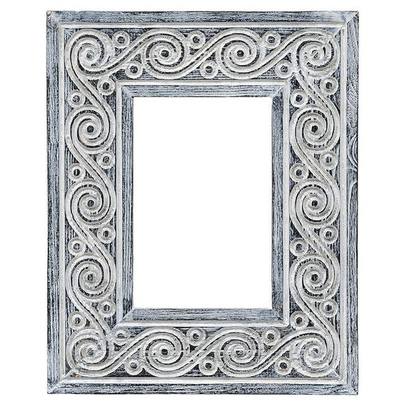 Photo Frame Zia Thin Wood Frame Wood Carvin Frame Tree Carving Frame Vintage Cheap Frames Chip Carving Frame With Carvings