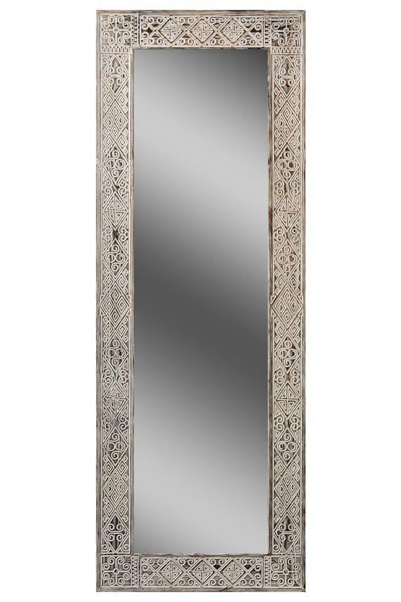 Afrikanische großer Holz Spiegel 40 X 120 schwarz Alter großer | Etsy