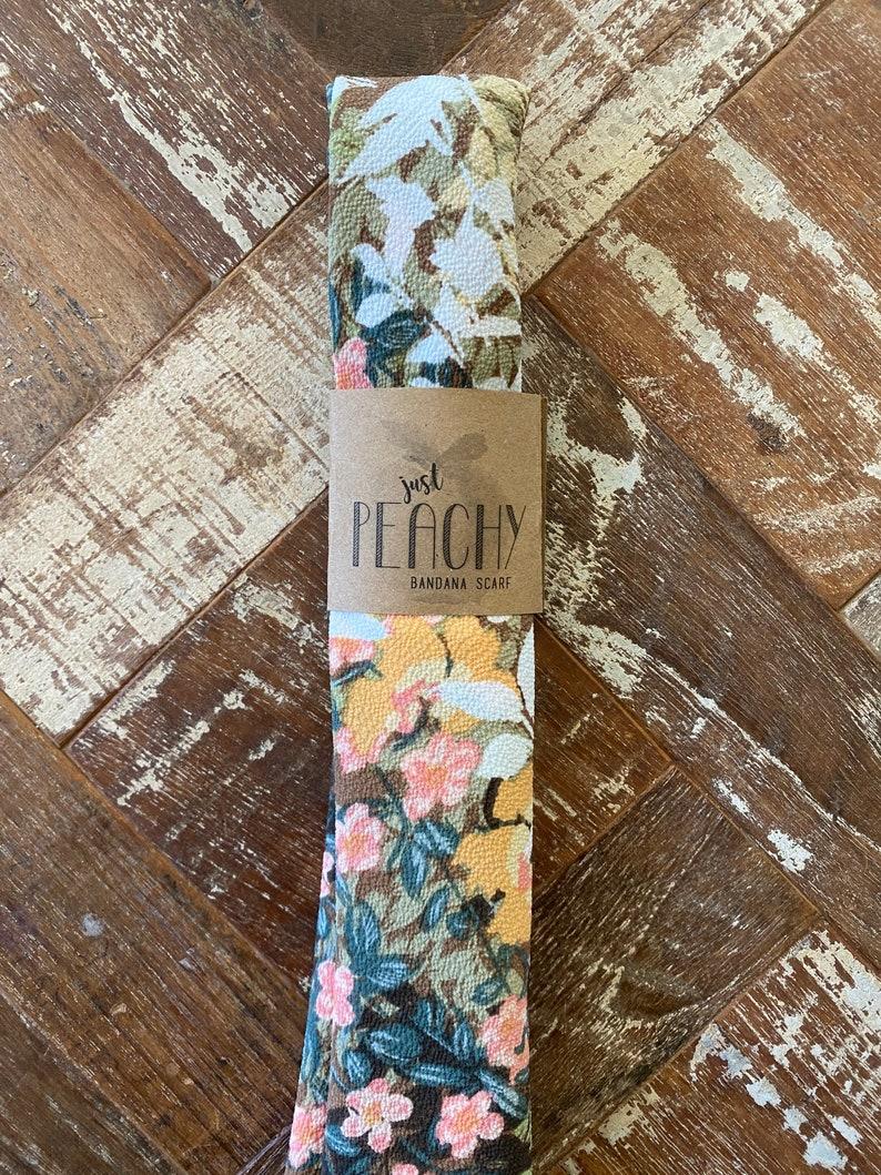 New-tral Floral Bandana Scarf