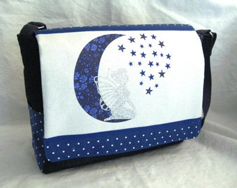 Moon fairy Messenger bag