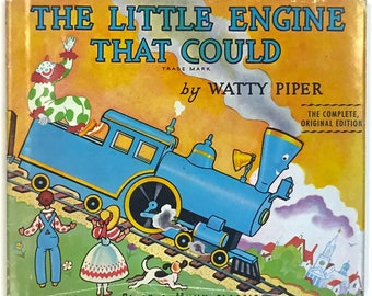 The Little Engine That Could by Watty Piper, Platt & Munk Publishers, Collectible childrens book