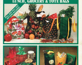 Simplicity 3710 – Lunch, Grocery & Tote Bags