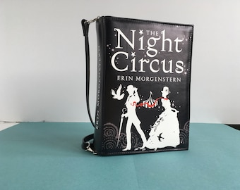 The Night Circus Book Clutch Erin Morgenstern Book Clutch