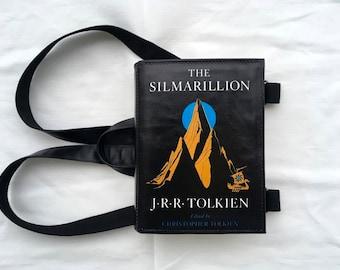 Silmarillion Leather Book Bag Tolkien Book Purse