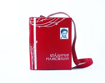 Mayakovsky Poetry Book Bag Mayakovsky Book Purse