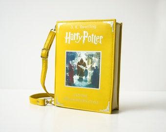 Marauder's Map Book Bag Harry Potter Book Lover Gift Leather Handbag