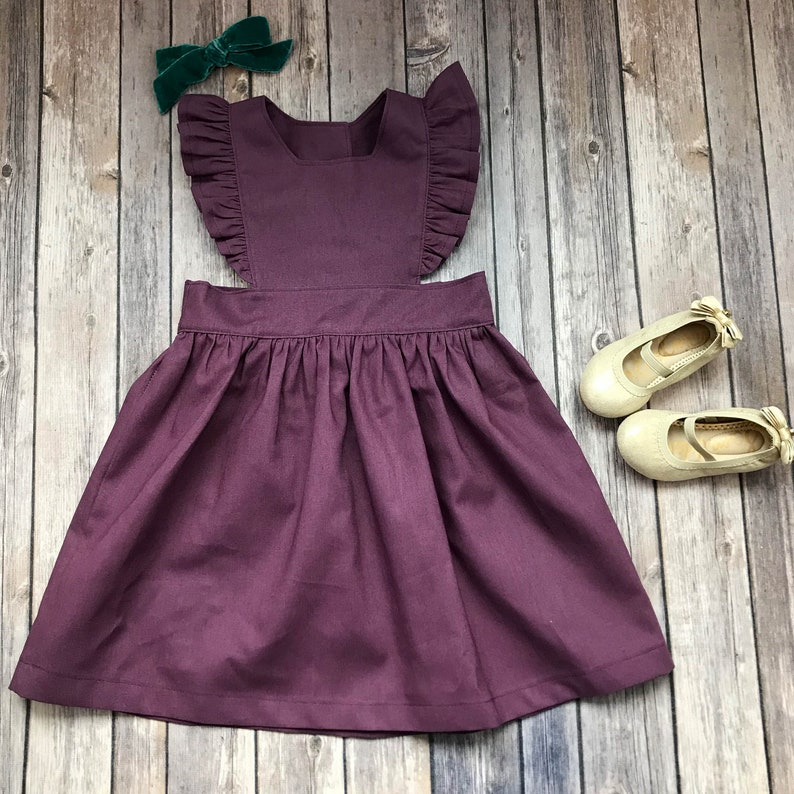 6f18b1f50aa Prune violet robe chasuble Purple robe chasuble enfant en