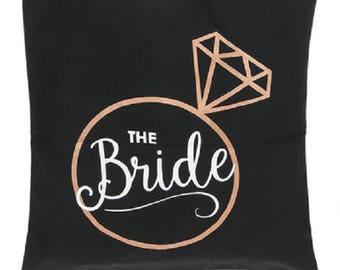 The Bride Black Tote Bag