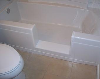 Custom STANDARD - Bathtub to Walk-In Shower Conversion Kit