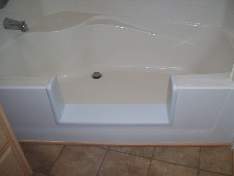 Custom Garden Tub Bathtub To Walk In Shower Conversion Kit Etsy