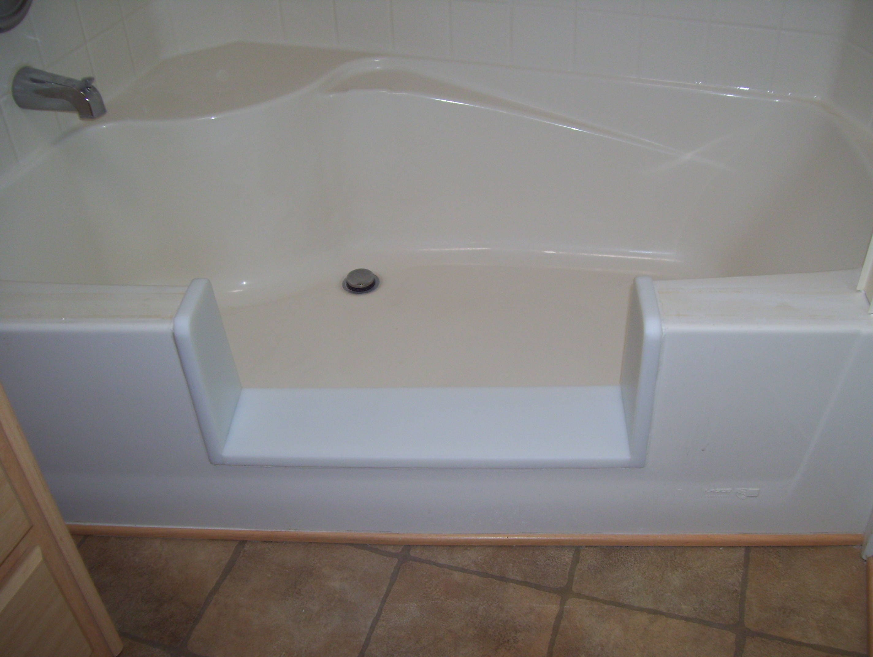 Custom Garden Tub Bathtub To Walk In Shower Conversion Kit